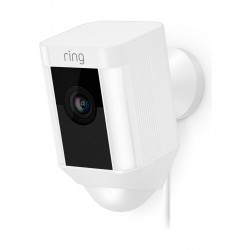 Ring Stick Up Hardwired Camera - White
