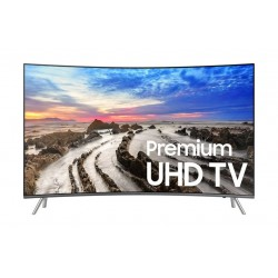 Samsung UA55MU7350 55 Inch Curved Smart UHD TV - Front View