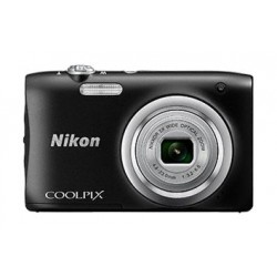 كاميرا كوولبيكس إيه ١٠٠ الرقمية المدمجة من نيكون – ٢٠ ميجابكسل – أسود (Coolpix A100)