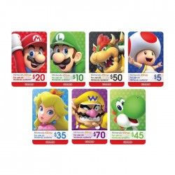 Nintendo eShop Cards - $35