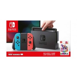 Nintendo Switch 32GB Console + Just Dance 19 Neon