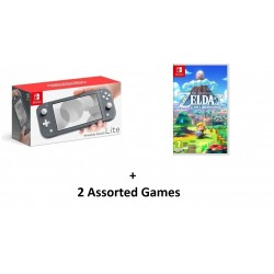Nintendo Switch Lite Gaming Console Grey in KSA | Buy Online – Xcite
