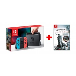 Nintendo Switch Portable Gaming System + Assasins Creed 3 Remastered