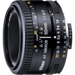 عدسة الكاميرا أيه أف-أس نيكور ٥٠ مم أف/١.٨ من نيكون