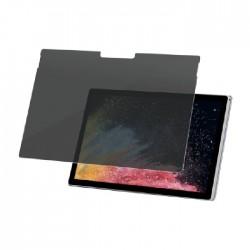 واقي شاشة الخصوصية لمايكروسوفت سيرفيس بوك بحجم 15 بوصة من بانزر جلاس (P6254) - شفاف