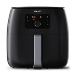 Philips Avance Airfryer XXL Twin TurboStar Rapid Air Technology (HD9650/94) - Black