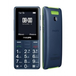 Philips E311 Dual Sim Phone - Black