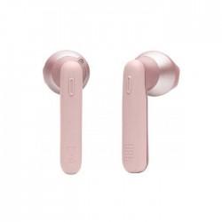 سماعات الأذن إيربودز اللاسلكية من جي بي ال (JBLT220TWSPIK) - وردي