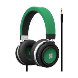 Promate Boom Dynamic Hi-Fi Stereo Wired Headset - Green