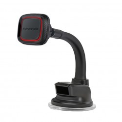 Promate Magmount4 360 Degree Rotate Long Arm Universal Magnetic Car Mount - Maroon