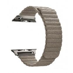 Promate Fiber Strap for 42mm Apple Watch - Beige