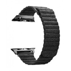 Promate Fiber Strap for 42mm Apple Watch - Black