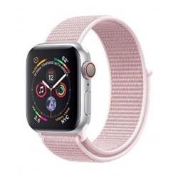 Promate Fibro Nylon Weave Mesh 42mm  Apple Watch Band - Pink