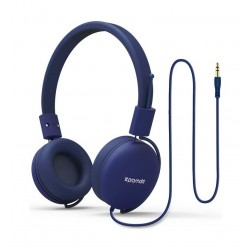 Promate Lightweight Supra-Aural Stereo Wired Headset - Blue 2