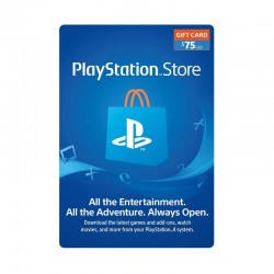 PlayStation Network Card - $75 (U.S. Account) - OneCard