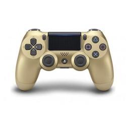 يد التحكم اللاسلكي دوال شوك ٤ لبلاي ستيشن ٤ - ذهبي (إصدار ثاني)