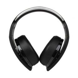 PS4 Platinum Wireless Headset (CECHYA-0090) – Black Front View