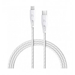 Ravpower Type-C To Lightning Data Sync Charging Cable (1.2 Meter) - White