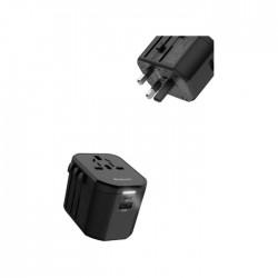 Roxxon PD + QC3.0 Universal Travel Charger - Black