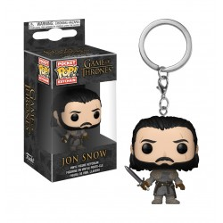 Funko Pop Keychain Game Of Throne S8 - Jonsnow Beyond Wall