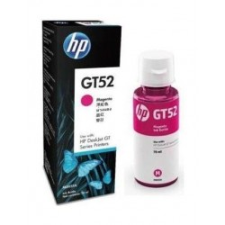زجاجة حبر إتش بي الأصلي GT52  لسلسلة الطابعات ديسكجيت جي تي - أصفر