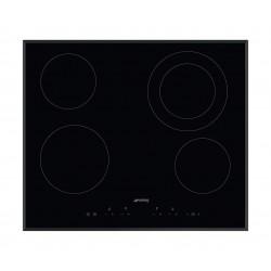 طباخ كهربائي مسطّح ومدمج من سميج – ٦٠ سم – ٤ شعلات من السيراميك (SE364ETB)