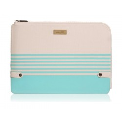 Monocozzi Gritty Ultra-Slim Sleeve For MacBook Pro 15-inch W/ USB-C & Macbook Air 13-inch - Tiffany Blue