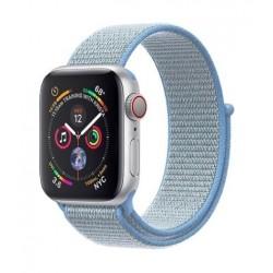 Promate Fibro Nylon Weave Mesh 42mm  Apple Watch Band - Blue