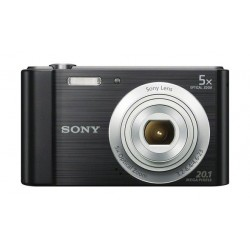 كاميرا سوني سايبر شوت الرقمية بدقة ٢٠ ميجابكسل – أسود (DSC-W800)
