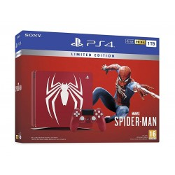 Spider Man 1TB PS4 Special Edition Console - Red + Marvel Spider Man Game