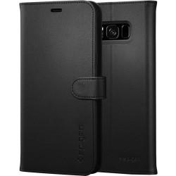 Spigen Case Wallet S For Samsung Galaxy S8 (571CS21687) - Black