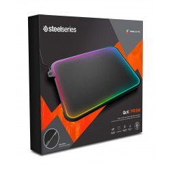 SteelSeries QcK Prism RGB Mousepad - Medium