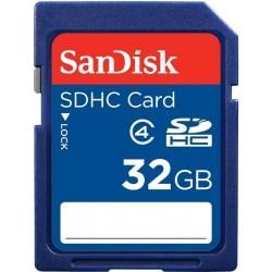 بطاقة ذاكرة سانديسك - أس دي أتش سي - ٣٢ جيجابايت - فئة ٤