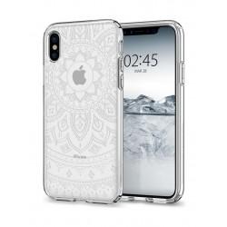 Spigen Liquid Crystal Case For iPhone 10  - Shine