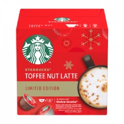 Starbucks Nescafe By Dolce Gusto Toffee Nut Latte Limited Edition Capsules | Buy Online – Xcite