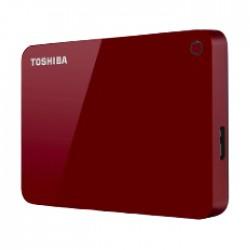 القرص الصلب بسعة 1 تيرابايت كانفيو من توشيبا (HDTC910ER3AA) - أحمر