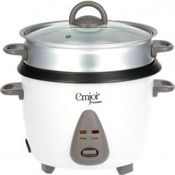 طباخ الأرز مع قدر التبخير سعة ١,٨ لتر من إمجوي (UERC-018L) - أبيض