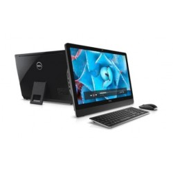 Dell 3464-INS-K0290-BLK 8GB RAM 23.8-inch All-in-one Desktop - Front & Back View