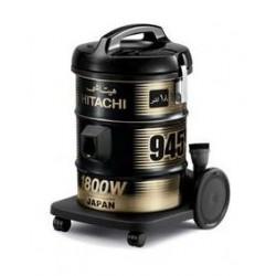 المكنسة الكهربائية بقوة ١٨٠٠ واط من هيتاشى -أسود- (CV945Y-220-BK)