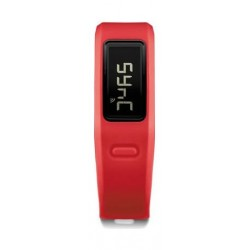 Vivofit DM-010-01225-38 Fitness Band With HRM Red - Front View