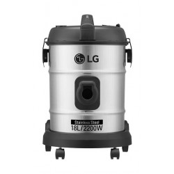 LG 2200 W Bagless Vaccum Cleaner (VP8622NNT1)  Stainless Steel - Front