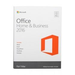 برنامج مايكروسوفت أوفيس هوم آند بيزنس ٢٠١٦ لأجهزة ماك ـ لغة إنجليزية (W6F-00945)