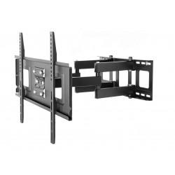 حامل حائط بحركة كاملة من ونسا لتلفزيونات ٣٢ إلى ٦٥ بوصة – أسود - (PSW882)