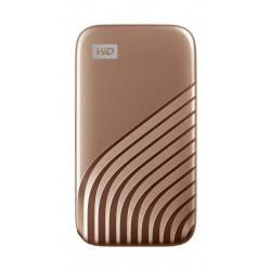 WD My Passport  1TB SSD Hard Drive - Gold