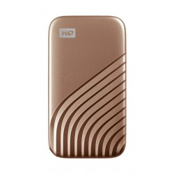 WD My Passport 500GB SSD Hard Drive - Gold