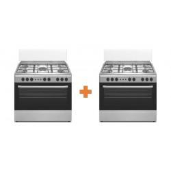 Wansa 90x60 Floorstanding Gas Cooker + 1 Free