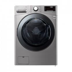 LG 17/10 KG Front Load Silver Washer Dryer in KSA | Buy Online – Xcite