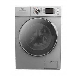White Westing House 12KG/8KG Front Load Washer Dryer (WWFLC9VW1208S) - Silver