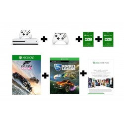 Xbox One S + 2 Games + 2 3-Months Subscription + Game Pass + Controller