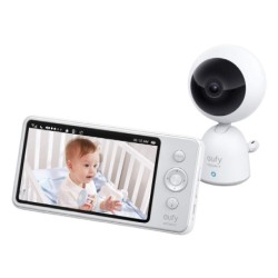 Eufy 720p Card Baby Monitor (T83212D1) - Grey